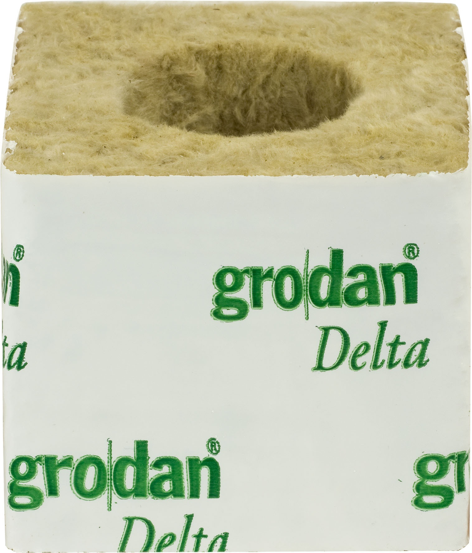 "GRODAN BOX 3"" CUBES (LARGE HOLE 36MM)"