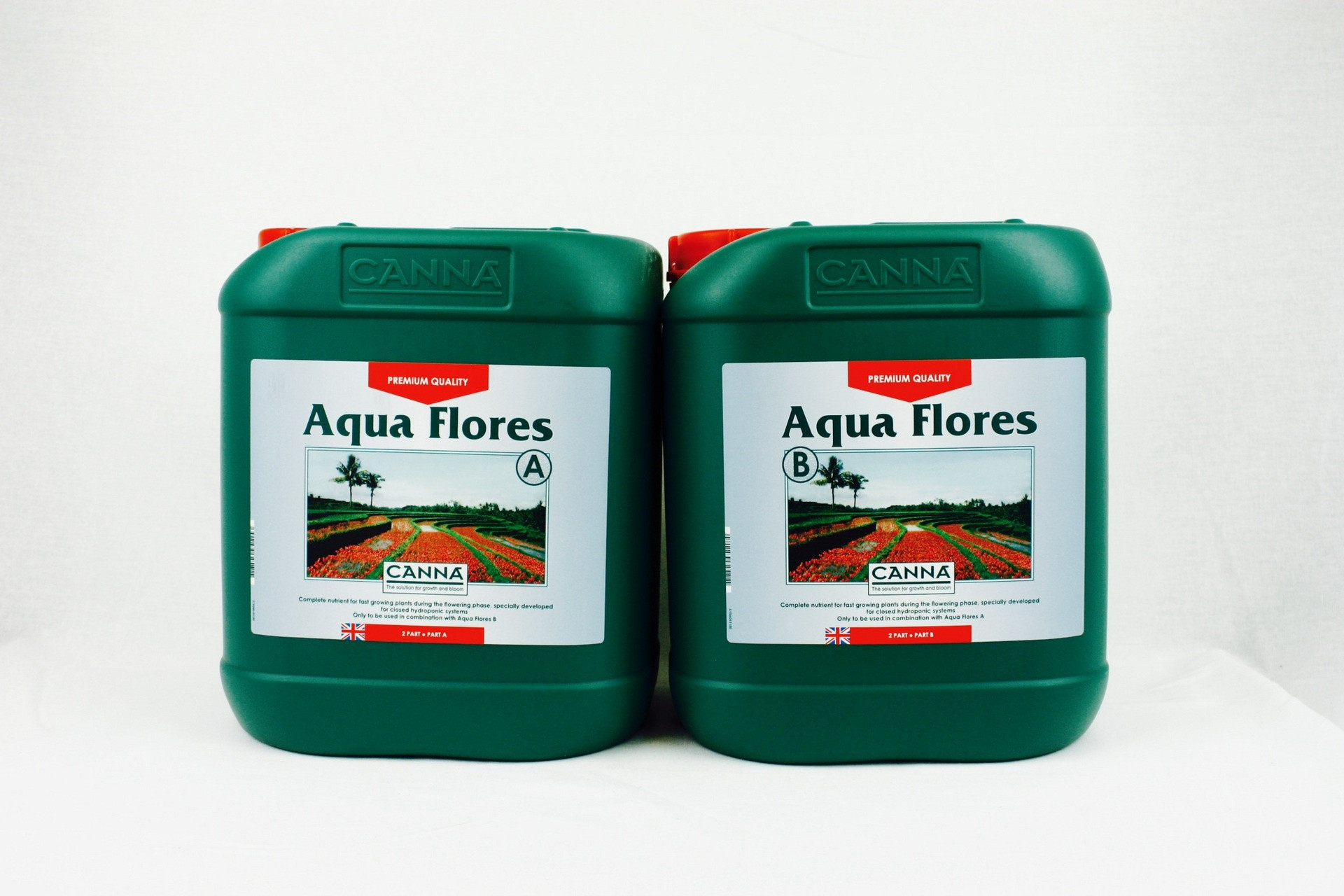 CANNA AQUA FLORES A&B 5 LITRE