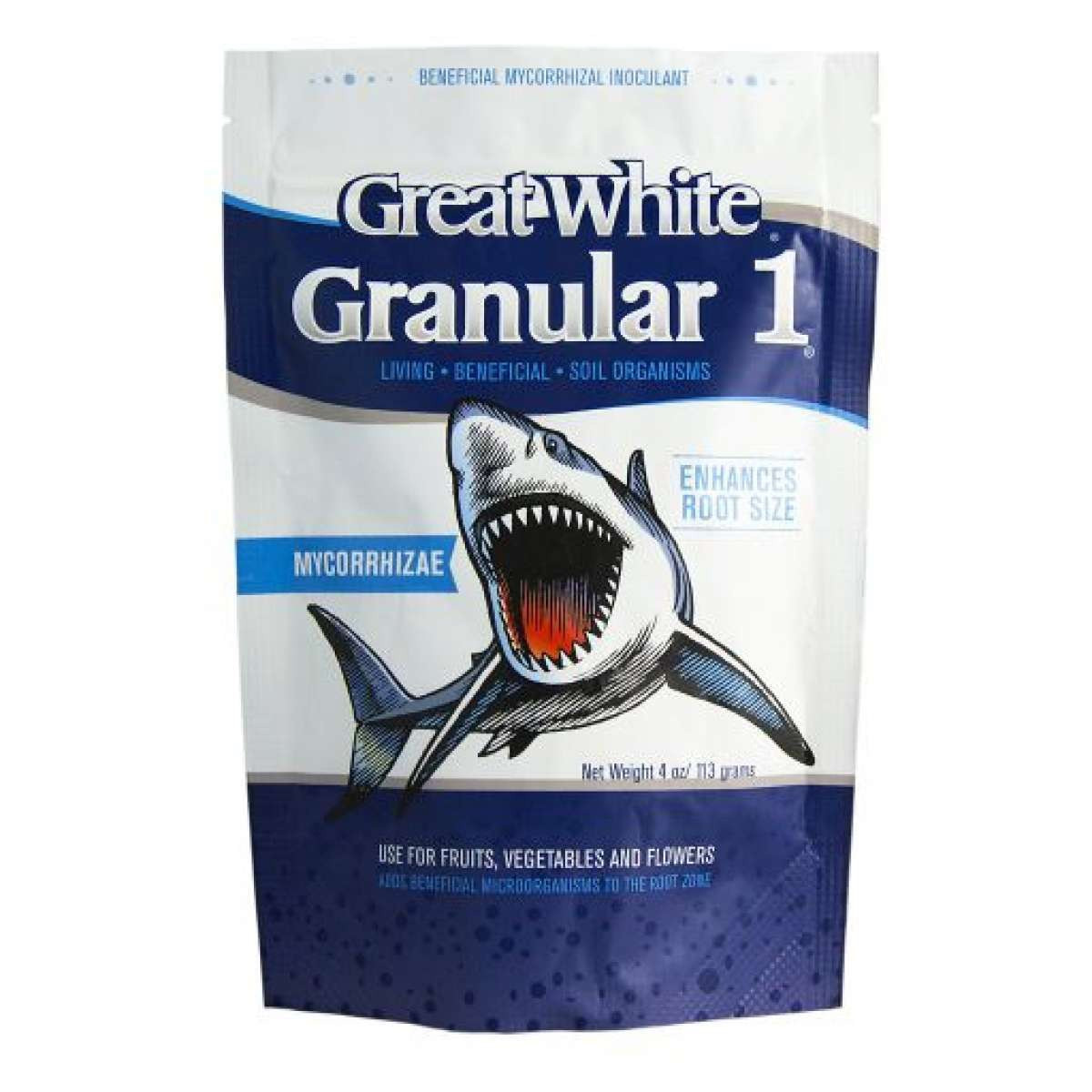 GREAT WHITE GRANULAR ONE 4oz