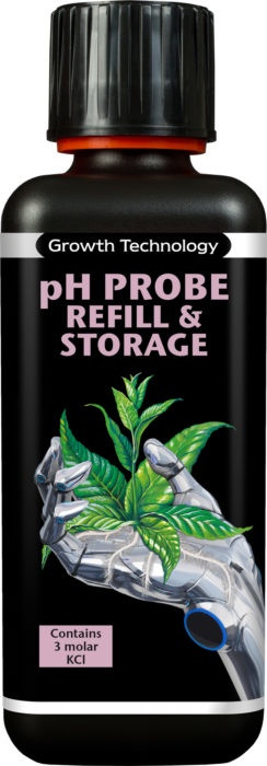 pH PROBE REFILL & STORAGE SOLUTION  KCL 300ML