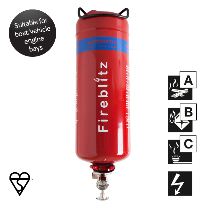 AUTOMATIC FIRE EXTINGUISHER 2KG