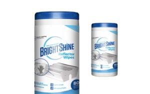 BRIGHT SHINE REFLECTOR WIPES
