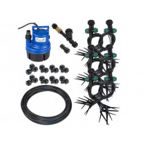 TOP SPIN DRIPPER KIT 25MM HIGH PRESSURE 37-72 PLANT