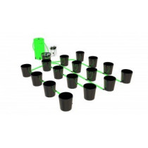 ALIEN FLOOD&DRAIN XL 20 LITRE 16 POT SYSTEM