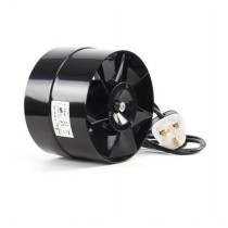 BLACK ORCHID AXIAL FLO FAN 4""
