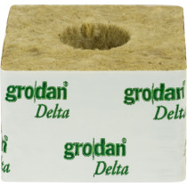 "GRODAN BOX 4"" CUBES (LARGE HOLE 36MM)"