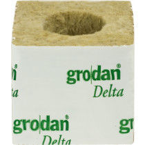 "GRODAN STRIP of 8 X 3"" CUBES (LARGE HOLE 36MM)"
