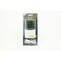 THERMOMETER/HYGROMETER WITH PROBE STANDARD