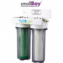 SMALL BOY DE-CHLORINATOR AND SEDIMENT FILTER
