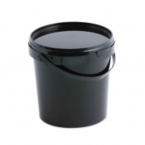 20 LITRE BLACK BUCKET WITH LID