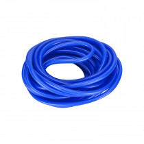 BLUE SILICONE AIRLINE 4MM