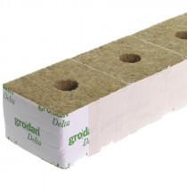 "GRODAN BOX 4"" CUBES (SMALL HOLE 25MM)"