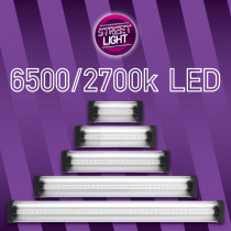 STREETLIGHT LED 120CM 48W 6500K/2700K